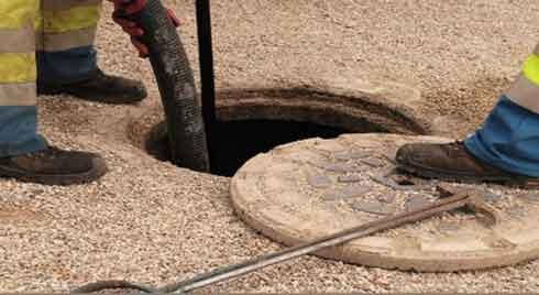 تخلیه چاه